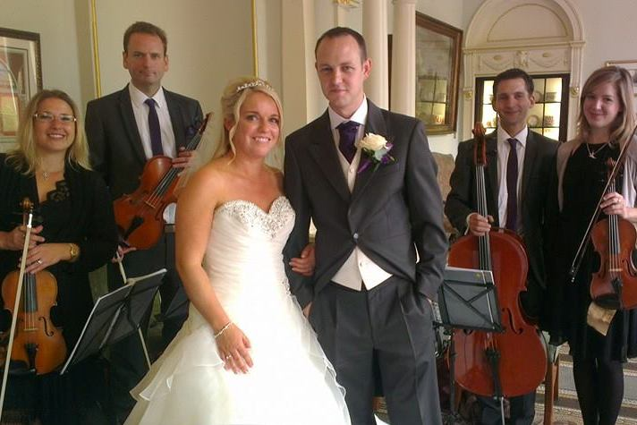 Capital String Quartet wedding